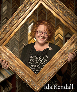 Ida Kendall owner of The Frame and I Prescott Arizona